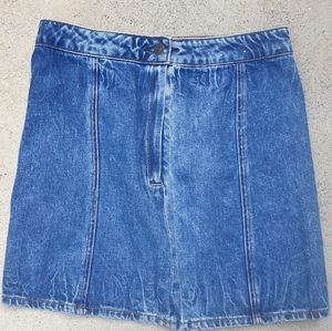 American eagle outfitters denim skirt High waisted